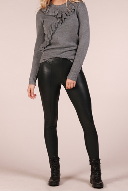 leather look Legging Mary Groen