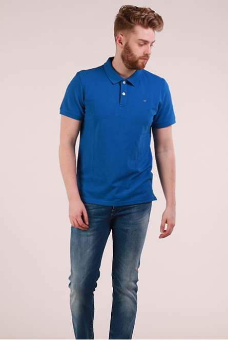 Polo electric blue