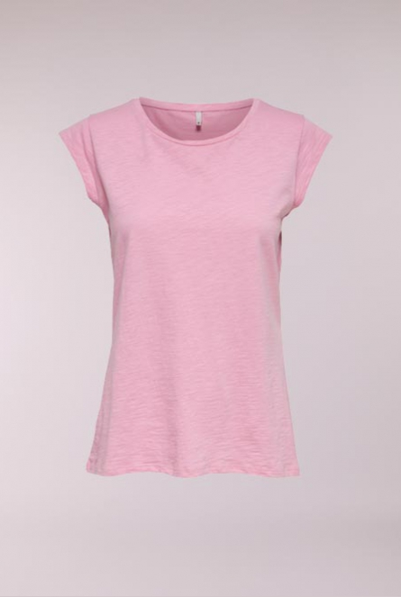 Basic Shirt Bone Roze