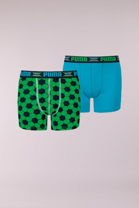 Boxershorts 2-pack 686-green / blue