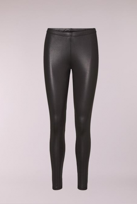 Effen Legging Rock Zwart
