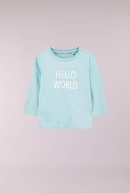 Shirtje Delufido Canal Blue