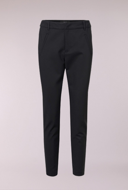 Broek Victoria Met bies Black/THAI CURRY PANEL