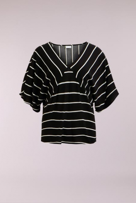 Blouse Becca Black/CLOUD DANCER