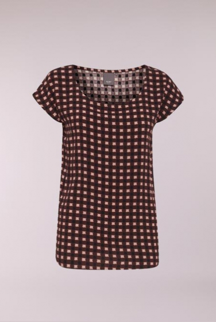 Blouse Estella Bordeaux rood