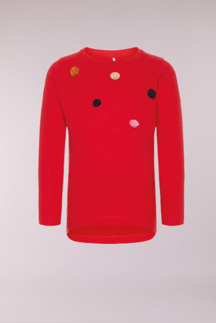 Shirtje Adotine True Red/SLIM