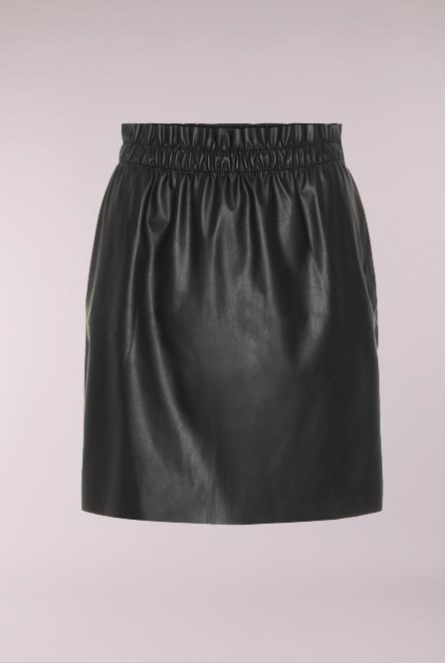 Leather look Rok Riley Black