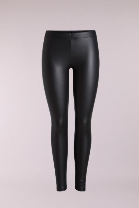 Leather look Legging New Shiny Black