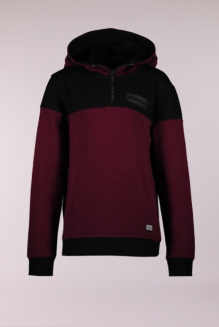 Sweater Lewis Bordeaux rood