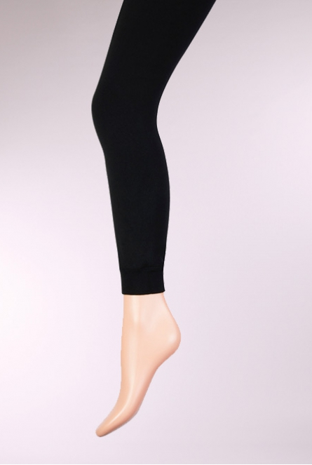 Legging Thermo double brushed Zwart