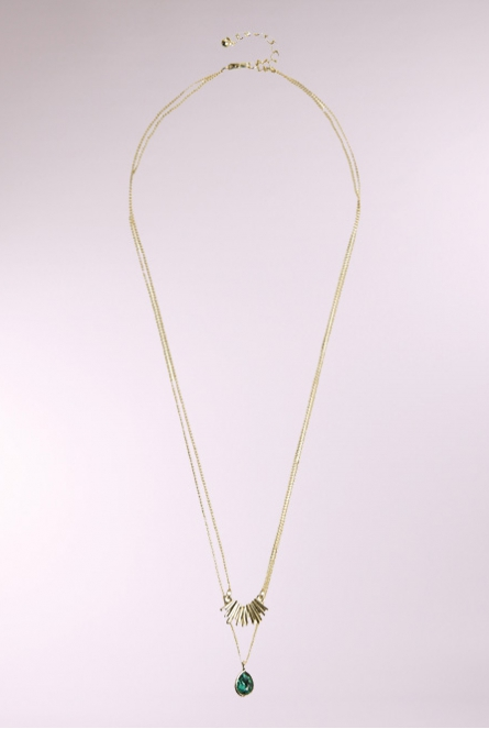 Ketting Kornelia Gold Colour/PONDEROSA PINE