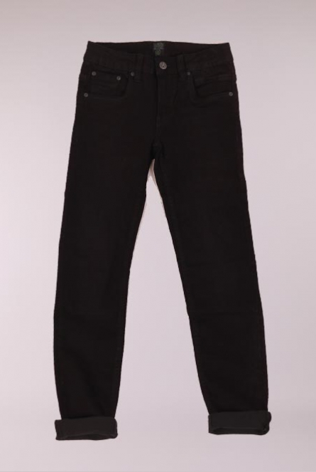 Jeans Kay slim-fit Black denim