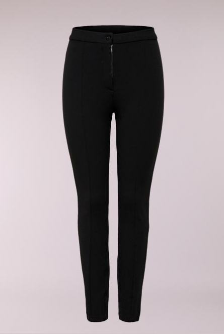 Nette Broek Gro Black/DTM BUTTON + ZIPPER TAPE // Z