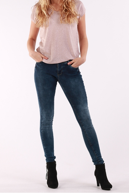 Jeans Victoria skinny fit Dark used