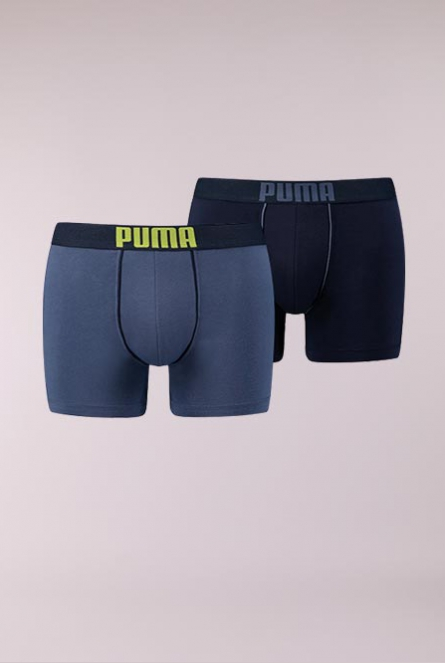 Boxershorts 2-pack 501-blue / lime
