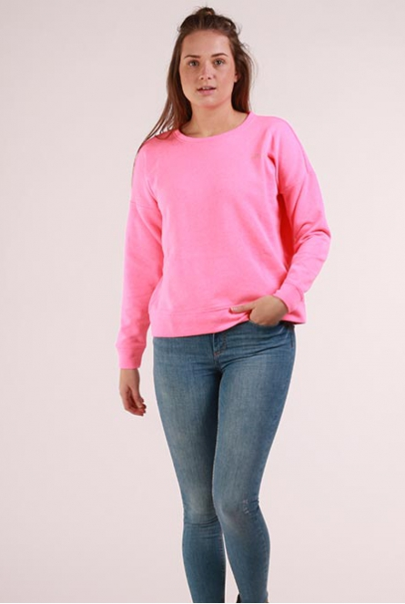 Neon Sweater Janni Neon Pink/JUST CHILL