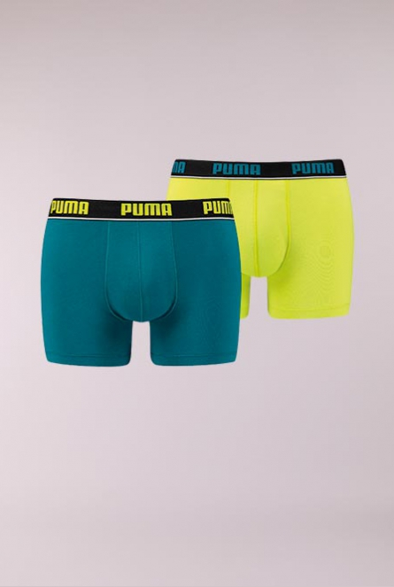 Boxershorts 2-pack 455-blue / yellow