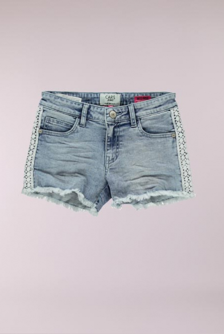 Denim Short Medley Blauw