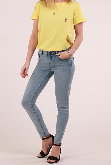 Skinny Jeans Carmen reg. Light Blue Denim