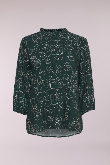 Blouse King Groen