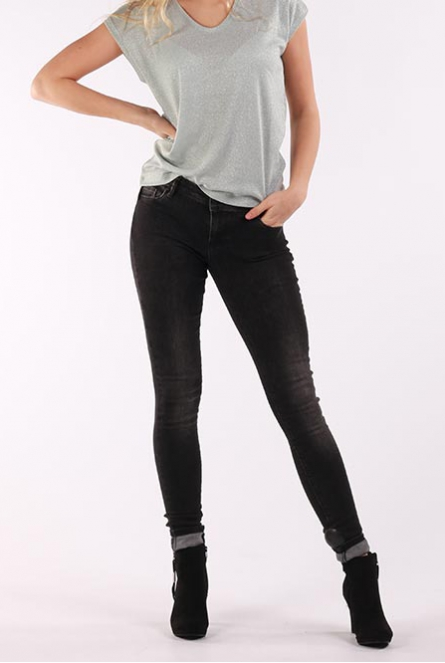 Jeans Victoria skinny fit Black denim