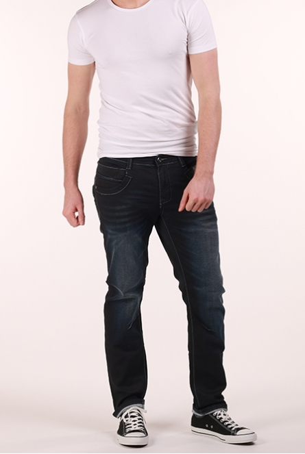 Jeans Blackstar Coated regular fit Blauw