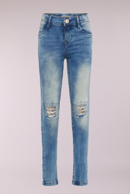 Jeans Polly Skinny-fit Blauw