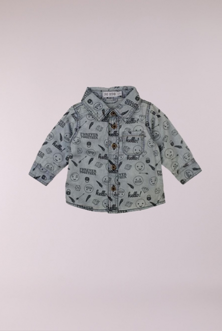 denim Blouse Stone used