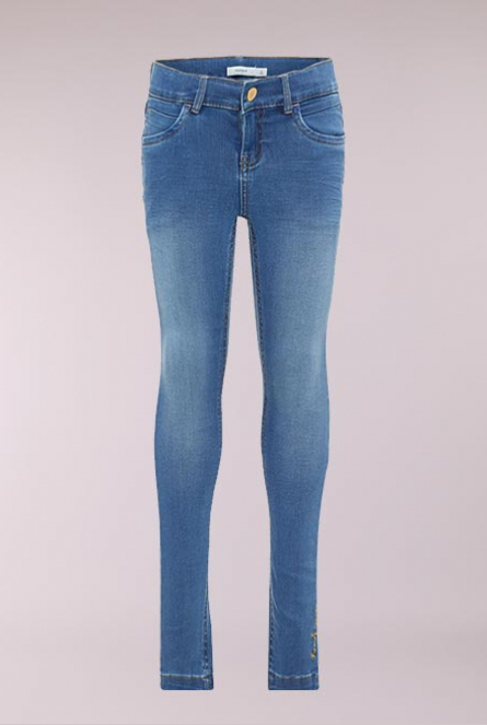 Jeans Polly Skinny Fit Blauw