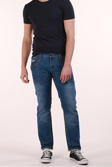 Jeans Bedford Regular Fit Blauw