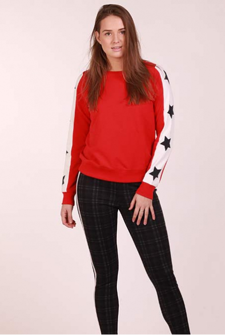 Sweater Pil Rood