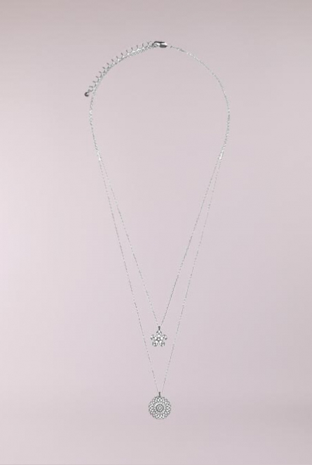 Ketting Serendipity Silver Colour