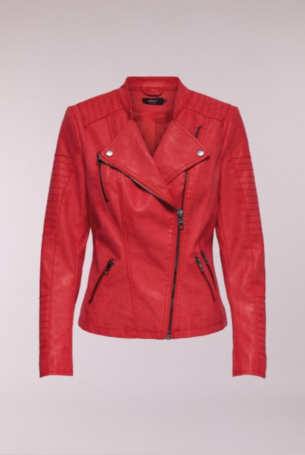 Leather look Jasje Ava High Risk Red