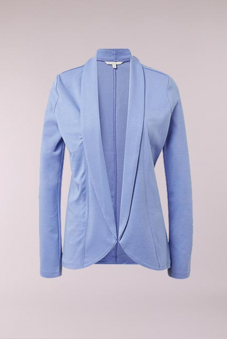 sweat blazer blue blossom                  Purpl