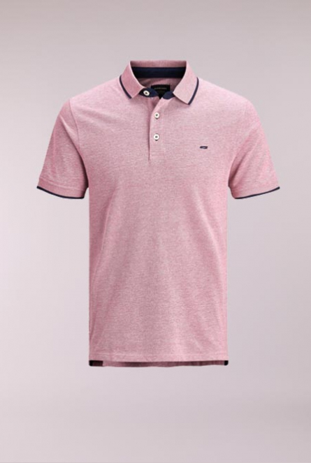 Polo Paulos Brick Red/SLIM FIT