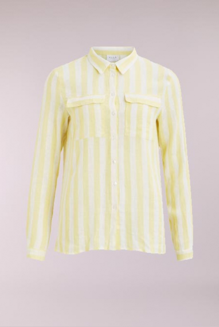 Gestreepte blouse Damita Goldfinch/CLOUD DANCER