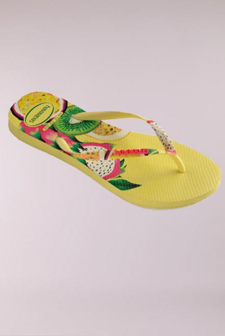 Slippers Sensation Geel