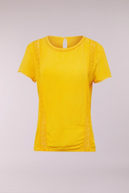 e8f836582b Tom Tailor Blouse golden yellow Yello