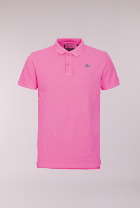 Basic Polo Roze