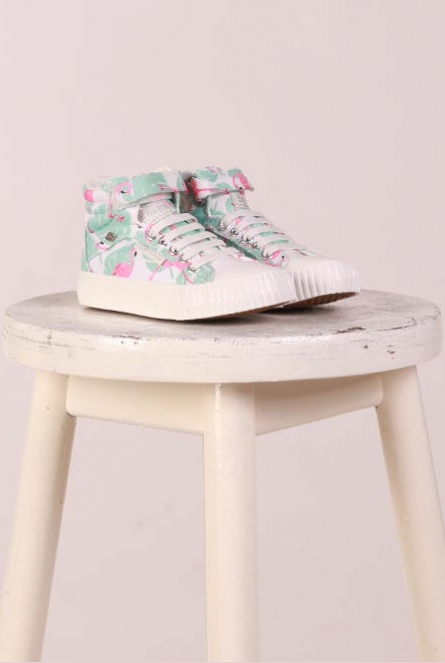 Flamingo Sneakers Groen