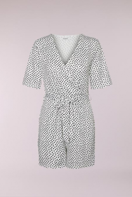 Playsuit DUNA dots Wit
