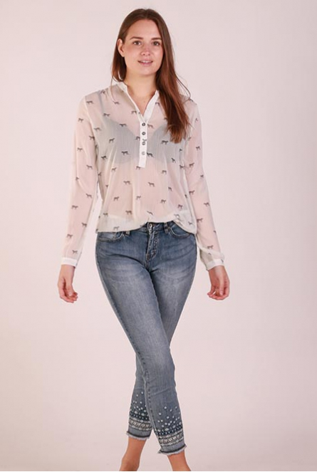 Blouse Doortje Wit