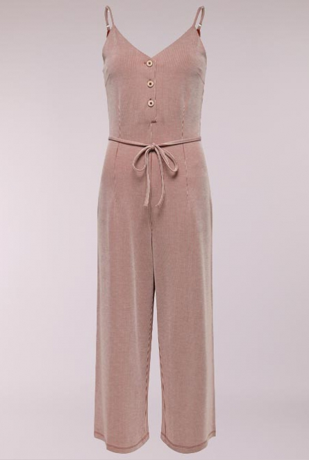 Gestreepte Jumpsuit Shirley Ketchup/CLOUD DANCER