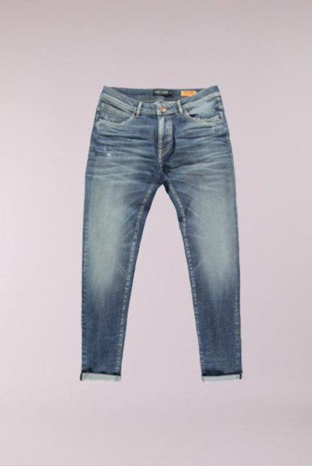 Jeans Dan Tapered fit Blauw