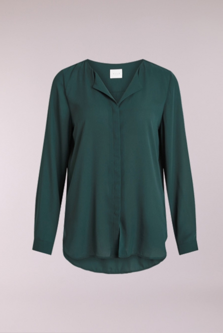 Basic Blouse Lucy Groen