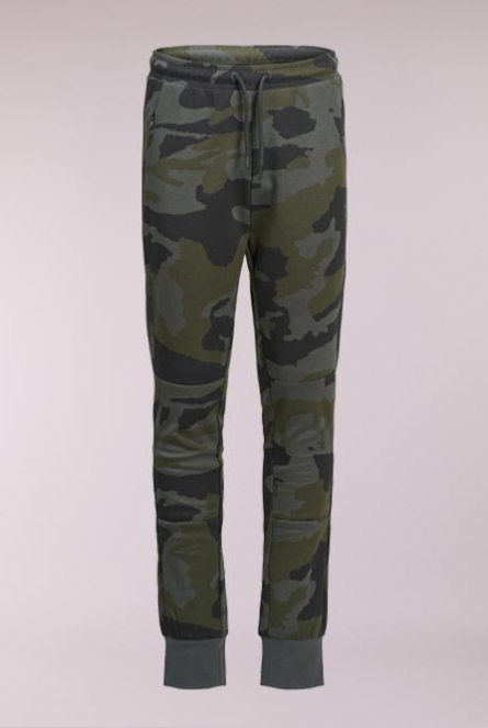 Camouflage SweatBroek Will Groen