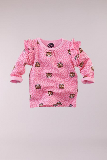 Shirtje Carolina Roze