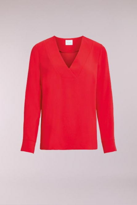 Basic Blouse Aia Rood