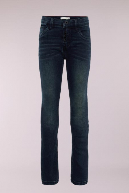 Slim fit Jeans Silas Blauw