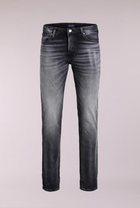 Slim fit Jeans Tim Icon Zwart